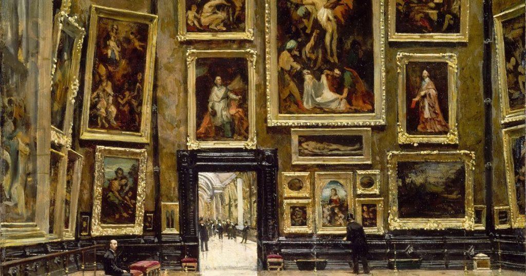 dipinti dell'800