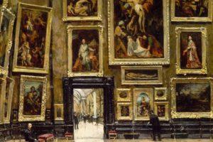 Diverse correnti artistiche nei dipinti dell'800