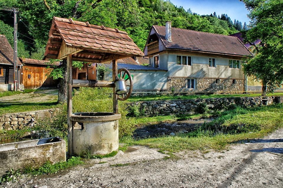 Pozzo antico da giardino