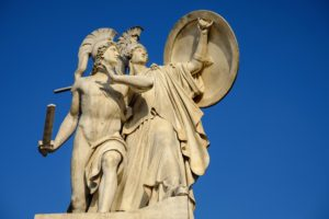 La bellezza e l'armonia intramontabili delle statue ellenistiche per interni ed esterni