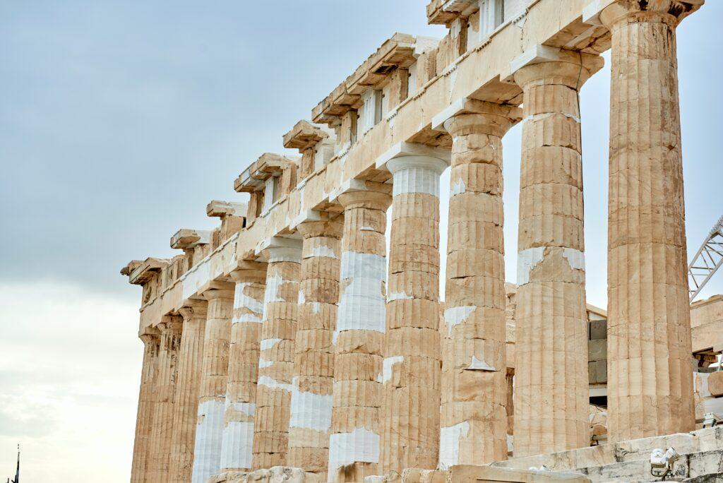 colonne in pietra antiche